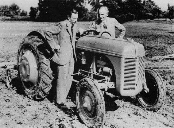 Harry Ferguson with Henry Ford